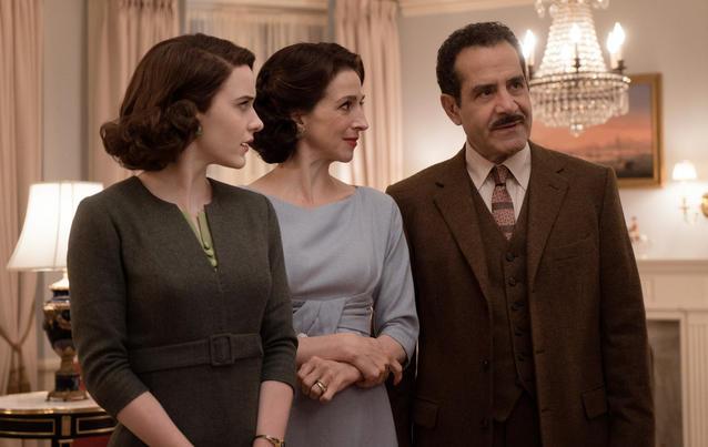 Marvelous Mrs. Maisel: Midge, Rose, Abe