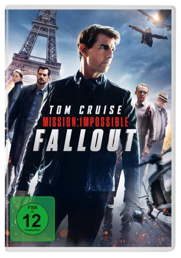 Mission: Impossible 6 Fallout DVD