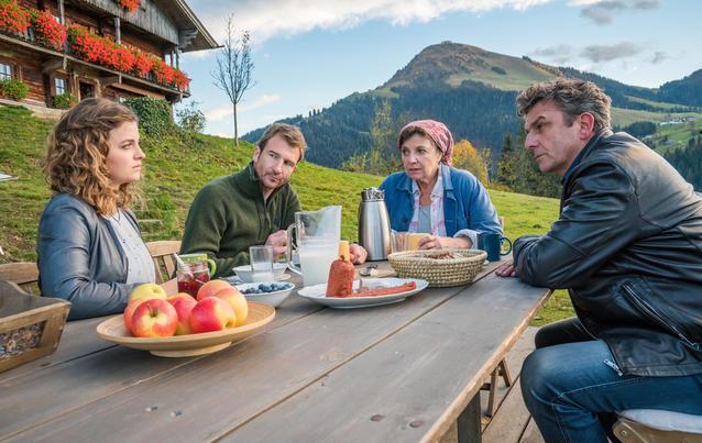Der Bergdoktor: Familie Gruber