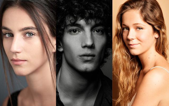 """Netflix """"Elite""""-Staffel 2: Claudia Salas, Georgina Amorós, Jorge Lopez"""