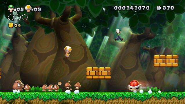 New Super Mario Bros. U Deluxe Switch Luigi