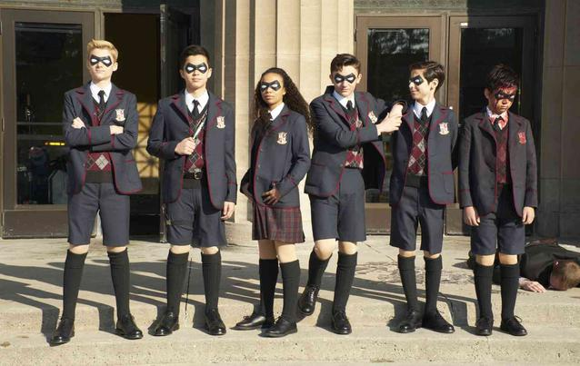 Umbrella Academy Kids