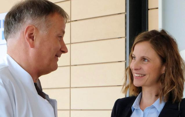 In aller Freundschaft: Roland, Katja