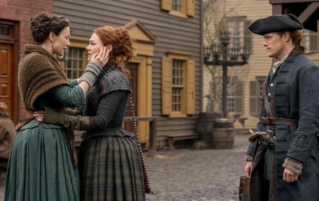 Outlander-Staffel 4: Claire, Brianna, Jamie Reunion