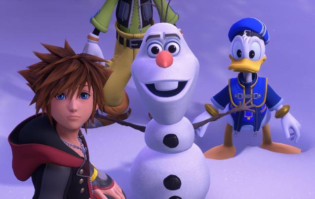Kingdom Hearts 3 Olaf