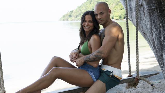 Ziania und Fabian Temptation Island