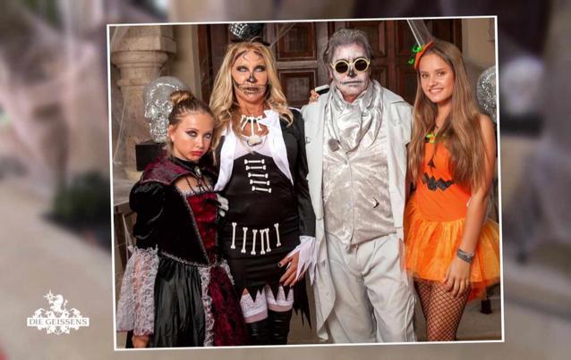 Carmen Geiss erscheint in Strapsen zur Halloween-Party ihrer Tochter