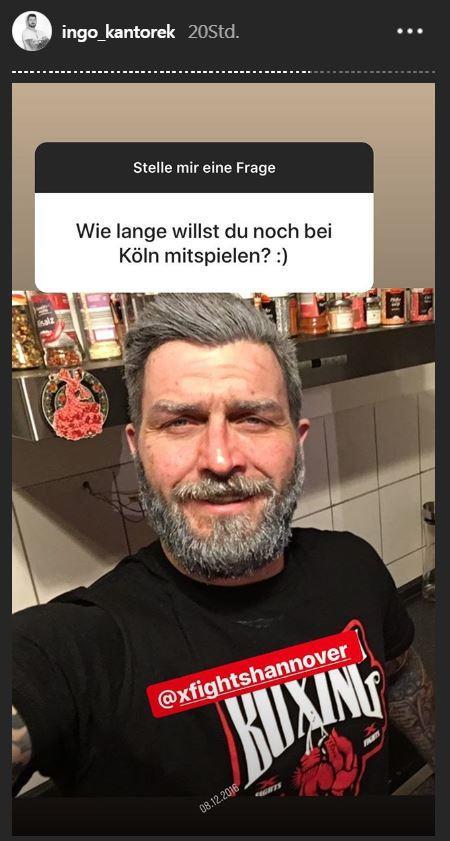 Köln 50667: Ingo Kantorek nimmt Stellung zu seinem Serien-Aus