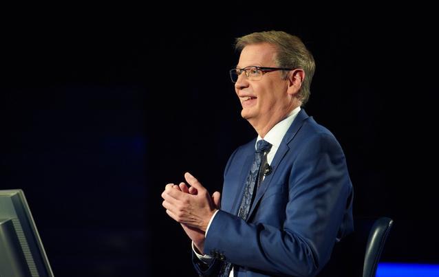 """""""Wer wird Millionär""""-Moderator Günther Jauch ist ganz aus dem Häuschen!"""