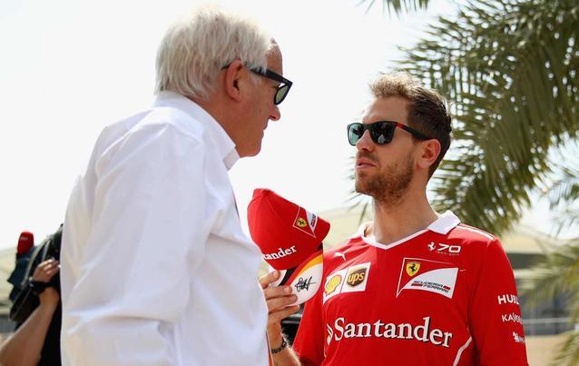 Ferrari Sebastian Vettel Charlie Whiting