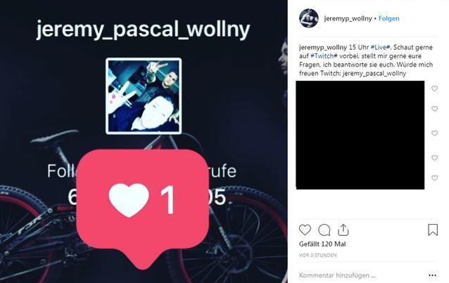 Jeremy Pascal Wollny zurück in der Öffentlichkeit: Jetzt macht er sein eigenes Ding