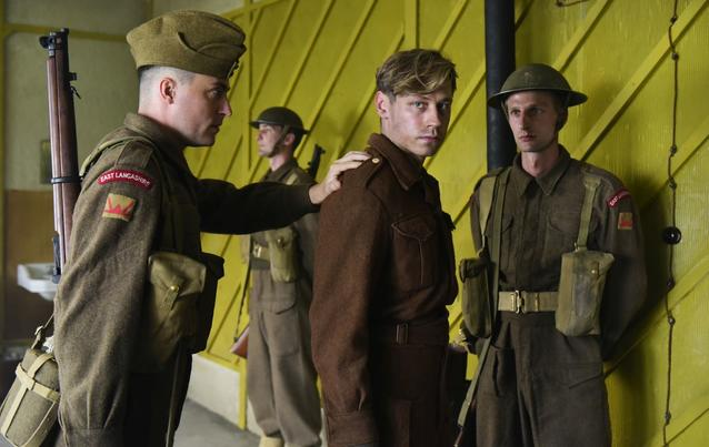 "David Kross in ""Trautmann"""