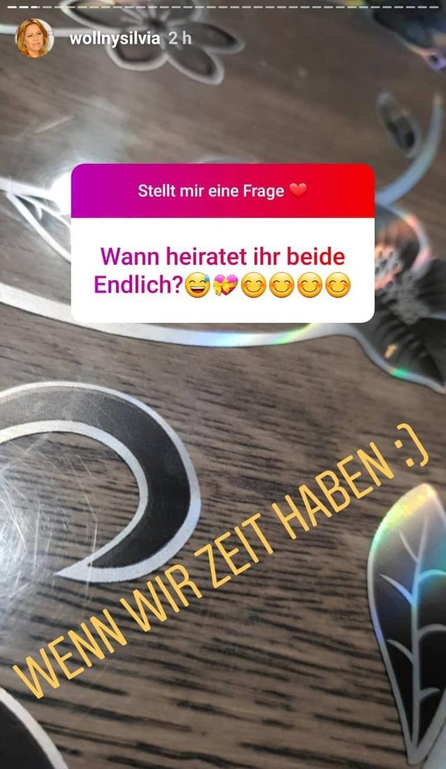 Silvia Wollny Instagram Story