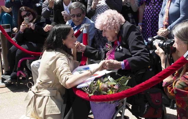 Trauer bei Prinz Harrys, Meghan und Royal-Fans: Daphne Dunne ist tot