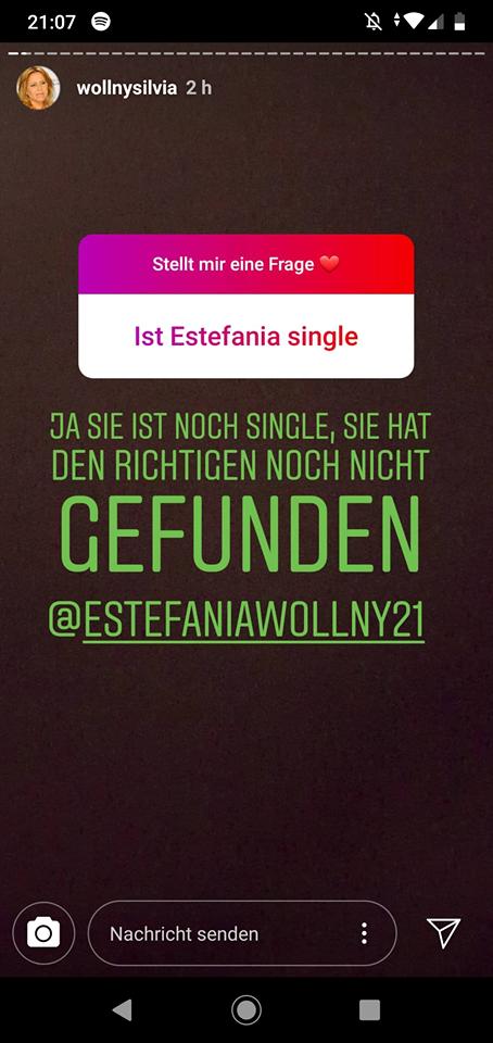 Silvia Wollny enthüllt, dass Estefania Wollny noch single ist
