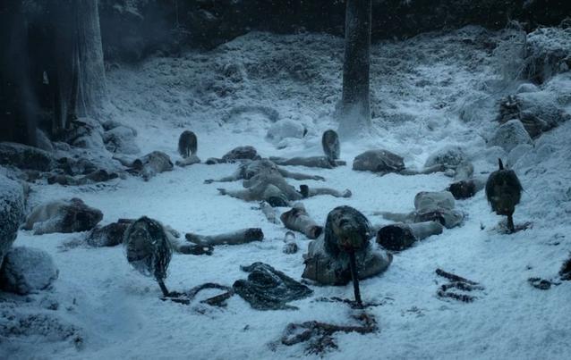 Game of Thrones - Wenn die weißen Wanderer eine Botschaft senden...mit Körperteilen...