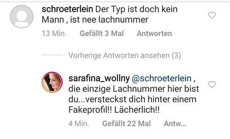 Sarafina Silvia Wollny Screenshot
