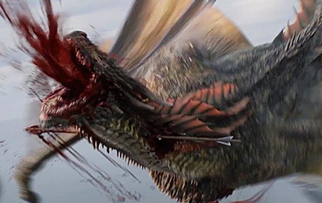 Game of Thrones: Rhaegal stirbt