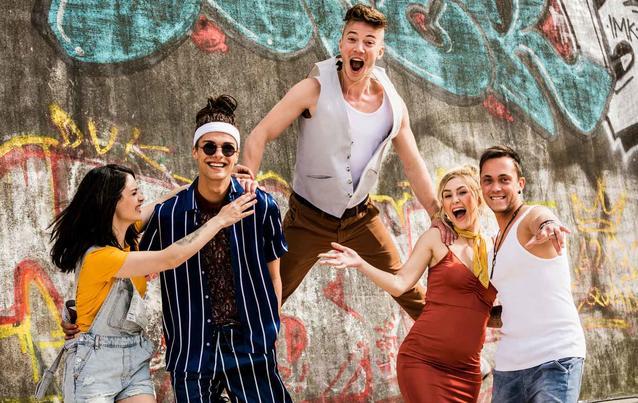 BTN: Zoe, Nik, Connor, Jade, Moritz