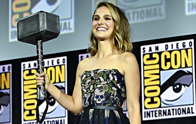 Natalie Portman als weiblicher Thor