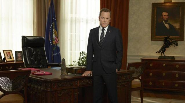 "Kiefer Sutherland in ""Designated Survivor"""