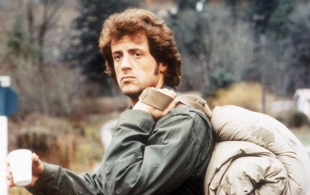 Sylvester Stallone in Rambo 1 (1982)