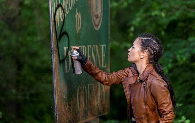 "Verlässt auch Christian Serratos alias Rosita bald ""The Walking Dead""?"