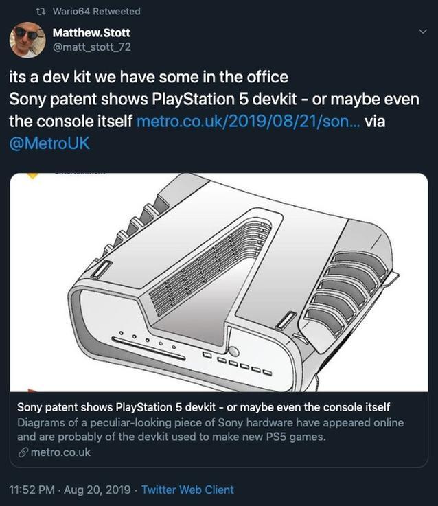 PS5 Matthew Stott Confirmed