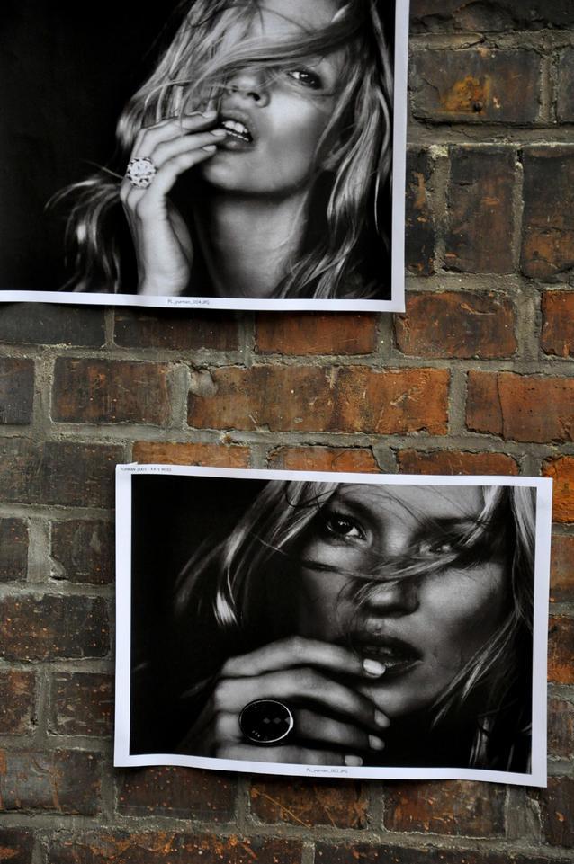 Peter Lindbergh Fotografien von Kate Moss