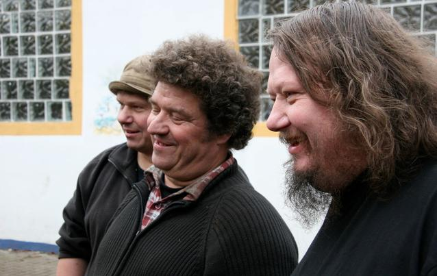 Manni, Uwe und Peter Ludolf