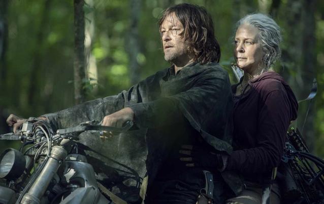 The Walking Dead Carol und Daryl Staffel 10