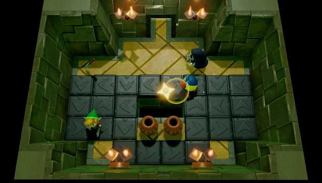 Zelda Links Awakening Dungeon