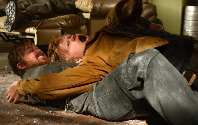 """Breaking Bad""-Finale: Jesse Pinkman (Aaron Paul) tötet Todd"
