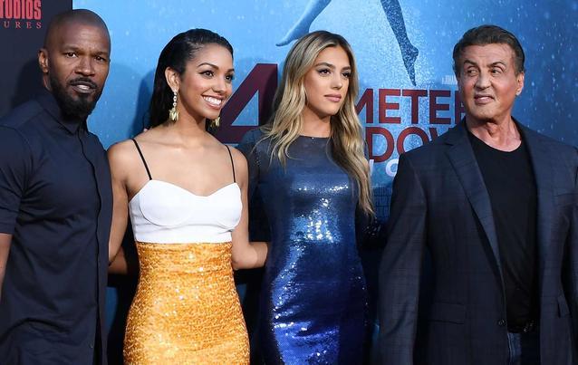 47 Meters Down: Uncaged: Jamie & Corinne Foxx, Sistine & Sylvester Stallone