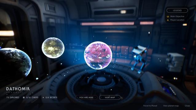 EA Respawn Star Wars Jedi Fallen Order Planets