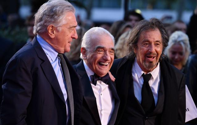 The Irishman Netflix Al Pacino, Martin Scorsese, Robert De Niro