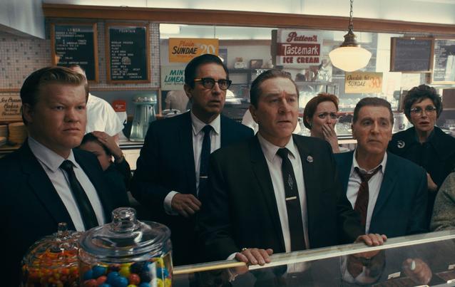 The Irishman Netflix Al Pacino, Robert De Niro