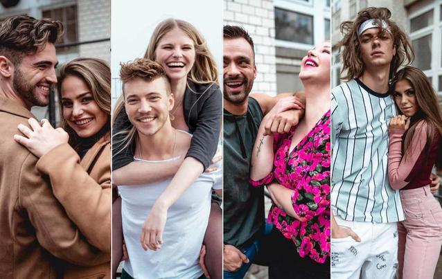 Berlin - Tag und Nacht: Vivi, Lukasz, Toni, Connor, Paula, Mike, Kim, Nik