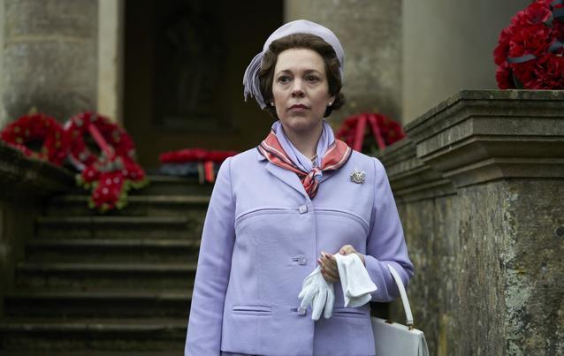 """Olivia Colman als """"Queen Elizabeth"""""""