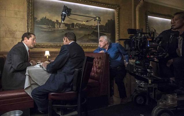 The Irishman Robert De Niro Martin Scorsese Dreh