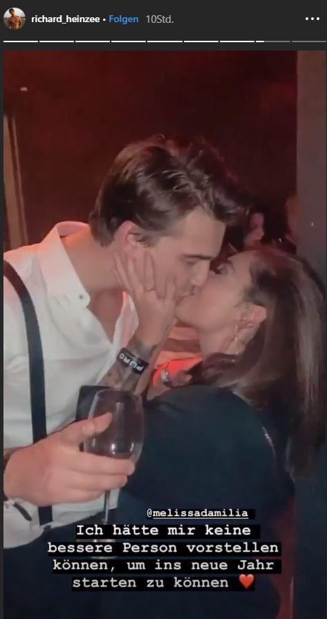 Love Island Melissa und Richard Heinze