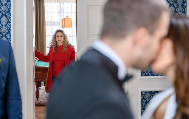 Franzi (Léa Wegmann) kann Tims Hochzeit nicht verhindern.