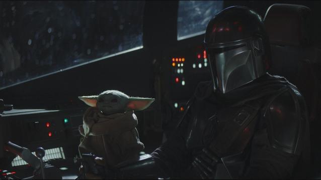 The Mandalorian und Baby Yoda