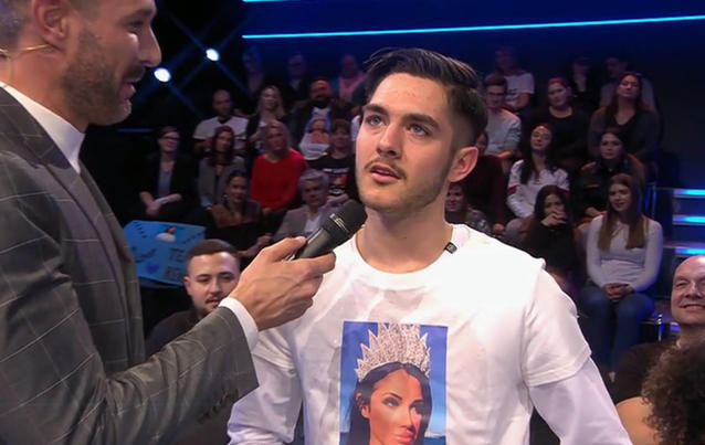 """Elias begleitete seine Mutter ins """"Big Brother""""-Studio."""
