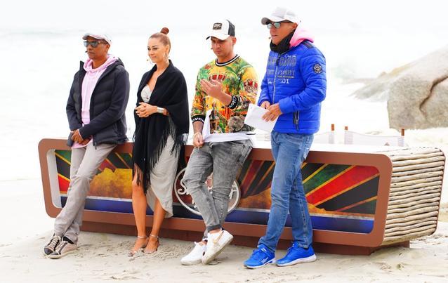 DSDS Jury beim Recall in Südafrika