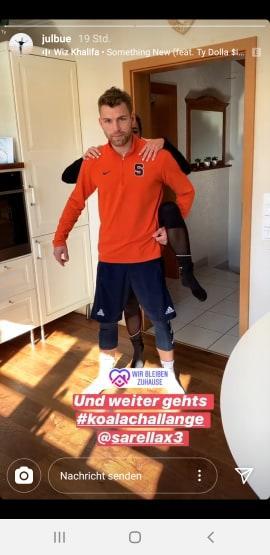 Julian Büscher teilt intimes Pärchenvideo mit Sarah Lombardi