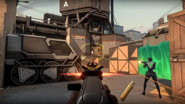 Valorant Gameplay Screenshot