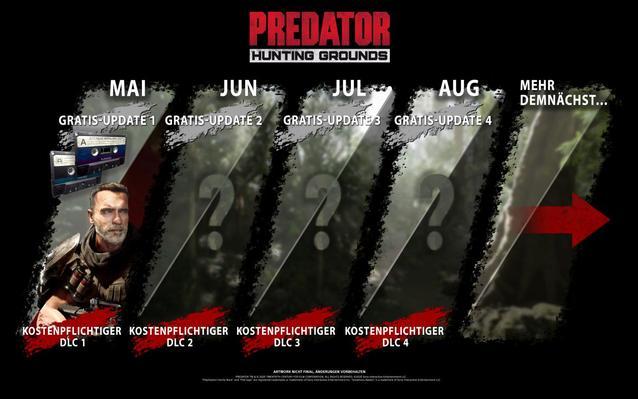 Predator Hunting Grounds DLC Plan