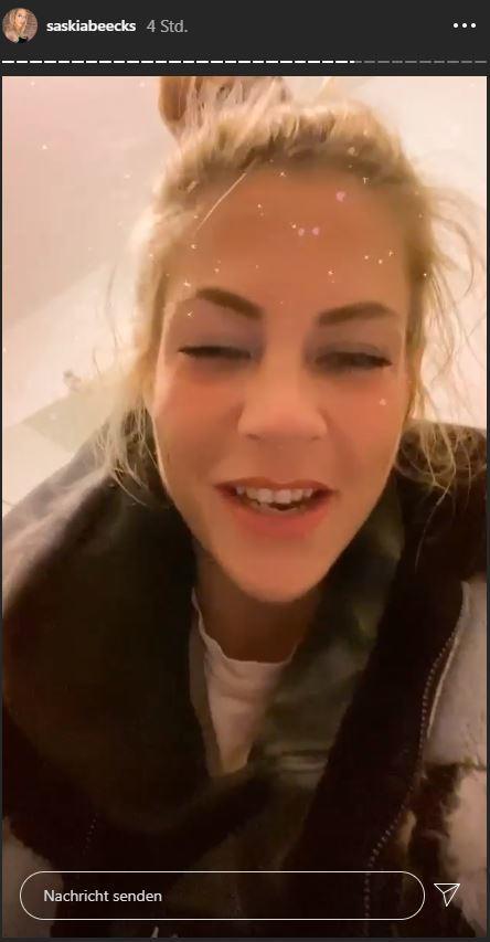 BTN-Star Saskia Beecks: Flucht vor der Polizei!