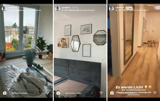Sarah Lombardis Liebesglück ist perfekt - und die gemeinsame Wohnung mit Julian fast fertig